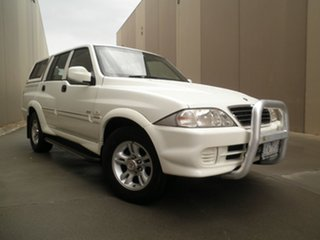 2006 Ssangyong Musso Sports 4x2 White 4 Speed Automatic Utility.