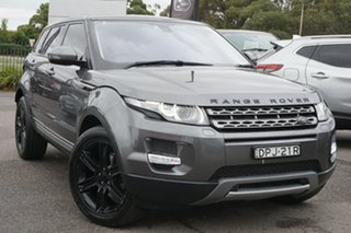 2014 Land Rover Range Rover Evoque L538 MY14 Pure Grey 9 Speed Sports Automatic Wagon.