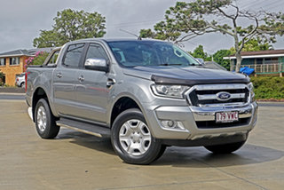 2015 Ford Ranger PX MkII XLT Double Cab 4x2 Hi-Rider Aluminium 6 Speed Sports Automatic Utility.