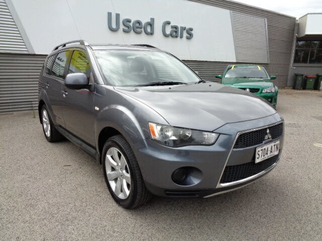 Used Mitsubishi Outlander ZH MY12 LS 2WD Elizabeth, 2012 Mitsubishi Outlander ZH MY12 LS 2WD Grey 6 Speed Constant Variable Wagon