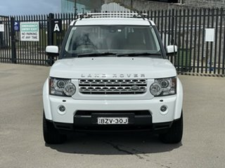 2011 Land Rover Discovery 4 Series 4 MY11 TdV6 CommandShift White 6 Speed Sports Automatic Wagon.