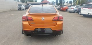 2017 Holden Commodore VF II MY17 SS Orange 6 Speed Sports Automatic Sedan