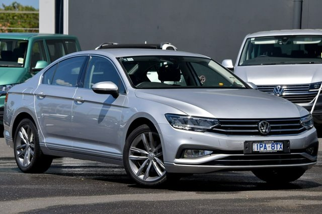 Used Volkswagen Passat 3C (B8) MY20 140TSI DSG Business Moorabbin, 2020 Volkswagen Passat 3C (B8) MY20 140TSI DSG Business Silver 7 Speed Sports Automatic Dual Clutch