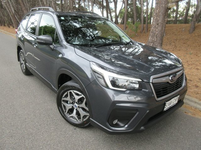 Demo Subaru Forester S5 MY21 2.5i CVT AWD Reynella, 2021 Subaru Forester S5 MY21 2.5i CVT AWD Magnetite Grey 7 Speed Constant Variable Wagon