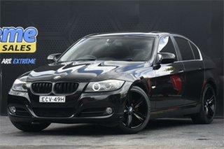 2010 BMW 3 Series E90 MY10.5 323i Steptronic Lifestyle Black 6 Speed Sports Automatic Sedan.