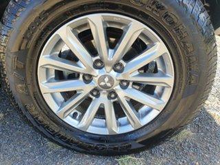 2015 Mitsubishi Triton MQ MY16 GLS Double Cab Silver 6 Speed Manual Utility.