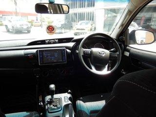 2016 Toyota Hilux GUN126R SR (4x4) Glacier White 6 Speed Automatic Dual Cab Chassis