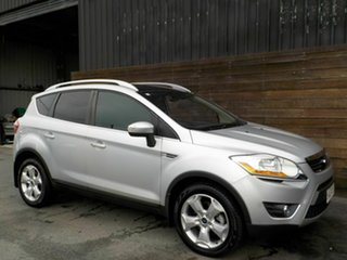 2012 Ford Kuga TE Titanium AWD Silver 5 Speed Sports Automatic Wagon.