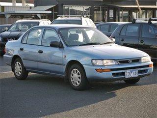 1996 Toyota Corolla AE101R CSi Blue 4 Speed Automatic Sedan.