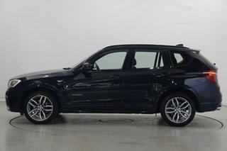 2017 BMW X3 F25 LCI xDrive30d Steptronic Blue 8 Speed Sports Automatic Wagon.