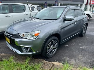 2018 Mitsubishi ASX XC MY18 XLS 2WD Grey 1 Speed Constant Variable Wagon.