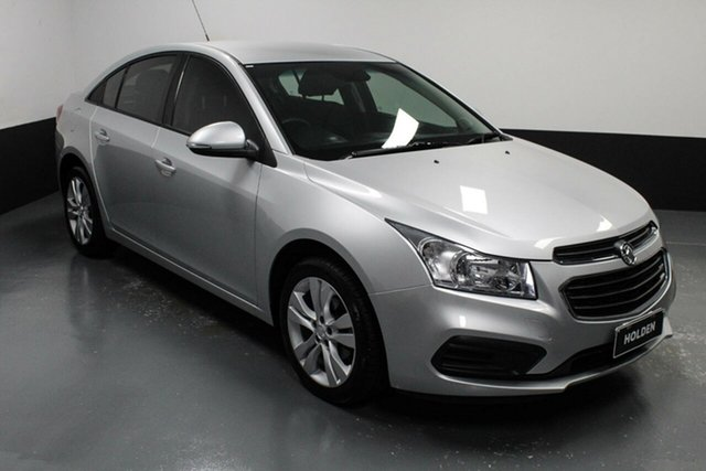 Used Holden Cruze JH Series II MY16 Equipe Cardiff, 2015 Holden Cruze JH Series II MY16 Equipe Silver 6 Speed Sports Automatic Sedan