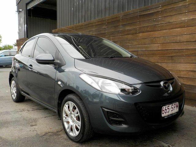 Used Mazda 2 DE10Y2 MY12 Neo Labrador, 2012 Mazda 2 DE10Y2 MY12 Neo Grey 5 Speed Manual Hatchback