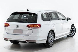 2016 Volkswagen Passat 3C (B8) MY17 132TSI DSG Comfortline White 7 Speed.