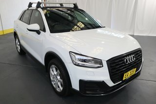 2017 Audi Q2 GA MY18 design S Tronic White 7 Speed Sports Automatic Dual Clutch Wagon.