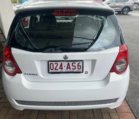 2010 Holden Barina TK MY11 White 4 Speed Automatic Hatchback