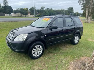 2005 Honda CR-V RD MY2005 Sport 4WD Black 5 Speed Manual Wagon
