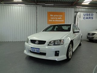 2010 Holden Commodore VE II SV6 White 6 Speed Sports Automatic Sedan.