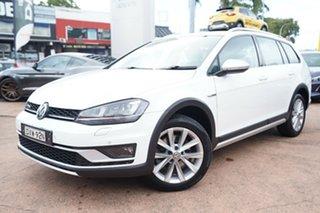 2016 Volkswagen Golf AU MY17 Alltrack 132 TSI White 6 Speed Direct Shift Wagon.