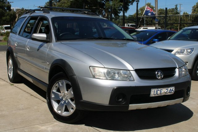 Used Holden Adventra VZ CX6 West Footscray, 2006 Holden Adventra VZ CX6 Silver 5 Speed Automatic Wagon