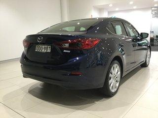 2016 Mazda 3 BM5238 SP25 SKYACTIV-Drive Deep Blue 6 Speed Sports Automatic Sedan.