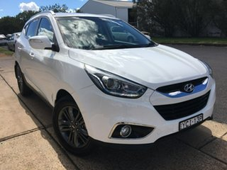 2015 Hyundai ix35 Series II SE White Sports Automatic.