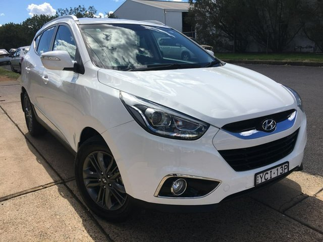 Used Hyundai ix35 Series II SE Dubbo, 2015 Hyundai ix35 Series II SE White Sports Automatic