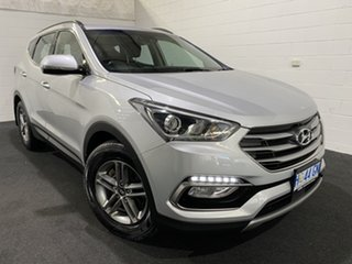 2018 Hyundai Santa Fe DM5 MY18 Active Silver 6 Speed Sports Automatic Wagon