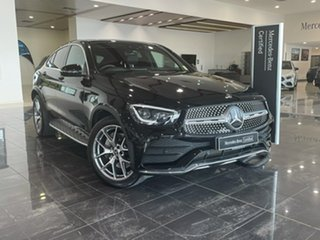 2020 Mercedes-Benz GLC-Class C253 800+050MY GLC300 Coupe 9G-Tronic 4MATIC Black 9 Speed.