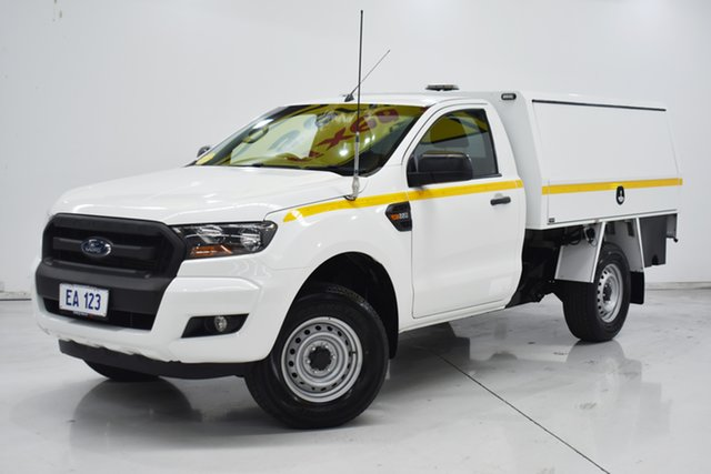 Used Ford Ranger PX XL Hi-Rider Brooklyn, 2015 Ford Ranger PX XL Hi-Rider White 6 Speed Sports Automatic Cab Chassis