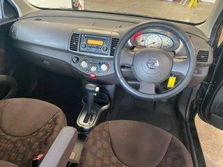 2010 Nissan Micra K12 Black 4 Speed Automatic Hatchback