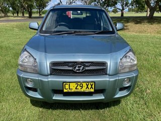 2008 Hyundai Tucson JM MY07 City SX Blue 5 Speed Manual Wagon
