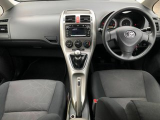 2009 Toyota Corolla ZRE152R Edge Red 6 Speed Manual Hatchback