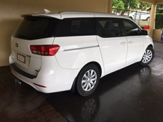 2015 Kia Carnival YP MY16 Update S White 6 Speed Automatic Wagon