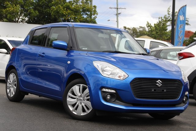 Used Suzuki Swift AZ GL Navigator Mount Gravatt, 2019 Suzuki Swift AZ GL Navigator Blue 1 Speed Constant Variable Hatchback