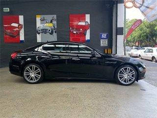2014 Maserati Ghibli M157 Black Sports Automatic Sedan