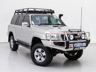 2007 Nissan Patrol GU VI ST (4x4) Silver, Chrome 5 Speed Manual Wagon.