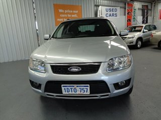 2011 Ford Territory SY MkII TS AWD Silver 6 Speed Sports Automatic Wagon
