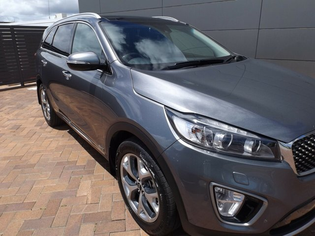 Used Kia Sorento UM MY17 Platinum AWD Toowoomba, 2017 Kia Sorento UM MY17 Platinum AWD Grey 6 Speed Sports Automatic Wagon