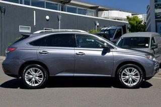 2013 Lexus RX GGL15R MY12 RX350 Luxury Grey 6 Speed Sports Automatic Wagon.