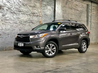 2014 Toyota Kluger GSU50R GXL 2WD Grey 6 Speed Sports Automatic Wagon.