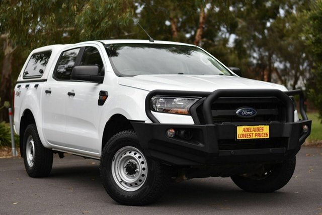 Used Ford Ranger PX MkII 2018.00MY XLT Double Cab 4x2 Hi-Rider Melrose Park, 2017 Ford Ranger PX MkII 2018.00MY XLT Double Cab 4x2 Hi-Rider White 6 Speed Manual Utility