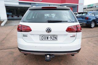 2016 Volkswagen Golf AU MY17 Alltrack 132 TSI White 6 Speed Direct Shift Wagon