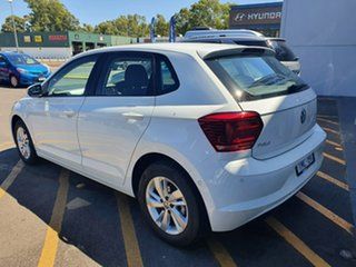 2019 Volkswagen Polo AW MY19 85TSI DSG Comfortline White 7 Speed Sports Automatic Dual Clutch