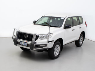2018 Toyota Landcruiser Prado GDJ150R MY17 GX (4x4) White 6 Speed Automatic Wagon