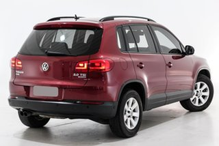 2014 Volkswagen Tiguan 5N MY14 132TSI DSG 4MOTION Pacific Red 7 Speed Sports Automatic Dual Clutch.