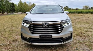 2020 Honda Odyssey RC 21YM Vi L7 Super Platinum 7 Speed Automatic Wagon.