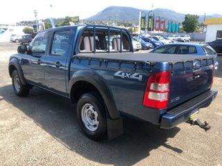 2007 Ford Ranger PJ XL Crew Cab Blue 5 Speed Automatic Utility