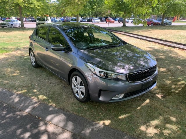 Used Kia Cerato YD MY18 S Launceston, 2018 Kia Cerato YD MY18 S Grey 6 Speed Sports Automatic Hatchback