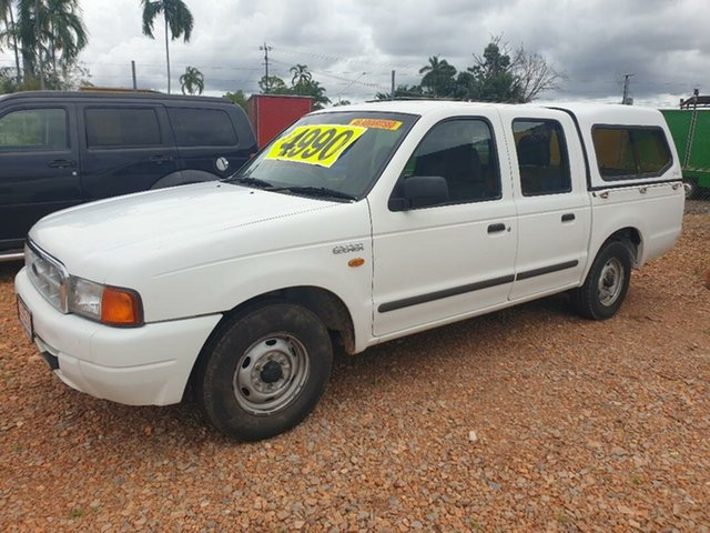 Used Ford Courier Holtze, 2000 Ford Courier White 5 Speed Manual Dual Cab